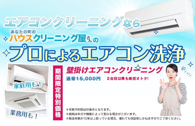 プロによるエアコン洗浄